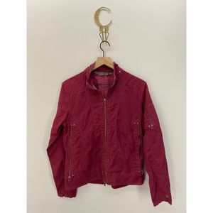 Kuhl Full Zip Women's Jacket Red Size Small